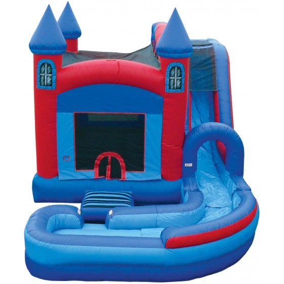 Jump N Splash (Dry or Wet Inflatable)